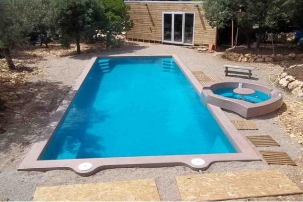 Platinum10 piscine for Piscine coque filtration integree